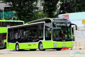 SMRT Buses - MAN Lion's City SD 3-Door (SG4002G) - SMRT Buses