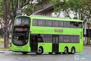SBS Transit Volvo B9TL Wright (SG5461H) - Service 247