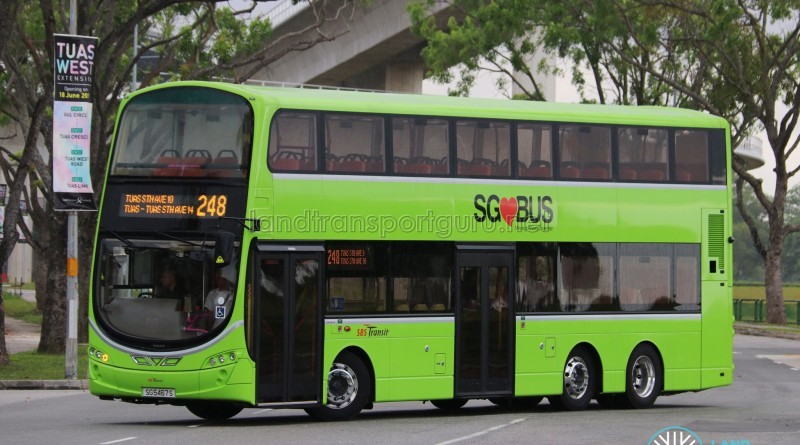 SBS Transit Volvo B9TL Wright (SG5467S) - Service 248