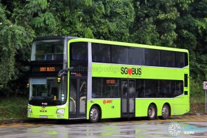 SMRT MAN A95 (SG5800M) - SMRT Buses