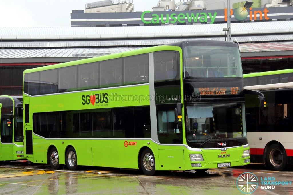 Smrt Bus Service 187 Land Transport Guru