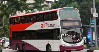 SBS Transit Volvo B9TL Wright (SBS7678A) - Service 133