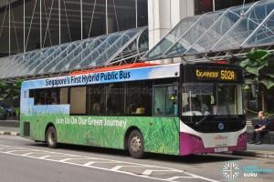 SBS Transit Sunlong SLK6121UF14H (SBS8001X) - Express Service 502A