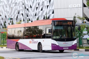 SBS Transit Scania K230UB Euro V (SBS8659Z) - Service 400