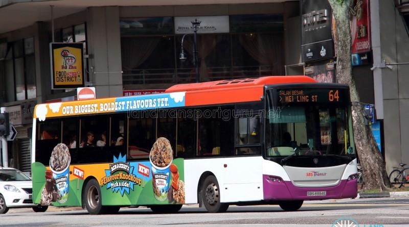 SBS Transit Scania K230UB (SBS8994E) - Service 64