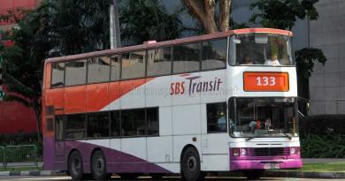 SBS Transit Leyland Olympian 3-Axle (SBS9097M) - Service 133