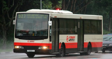 SMRT Hino HS3KRKK (TIB957Y) - Service 927