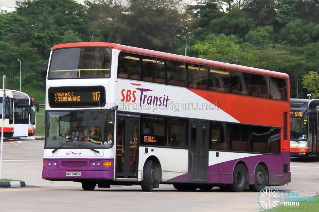 SBS Transit Dennis Trident (SBS9685R) - Service 117