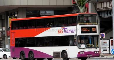 SBS Transit Volvo B10TL (SBS9845X) - Service 139