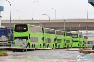 Alexander Dennis Enviro500 - Buses in storage
