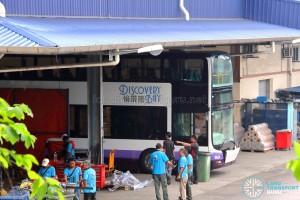 Gemilang Coachworks - MAN A95 bus for Discovery Bay, Hong Kong