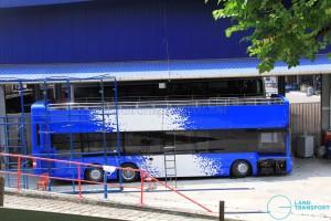Gemilang Coachworks - Open-top MAN A95 bus for the Hong Kong market