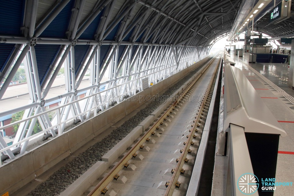 Gul Circle MRT Station - Unused Platform (Upper level)