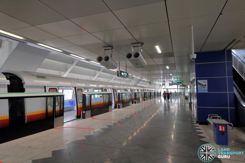 Gul Circle MRT Station - Lower Platform level