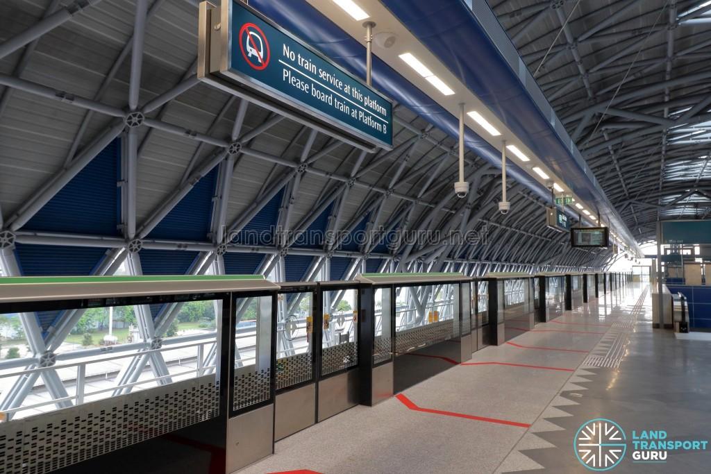 Gul Circle MRT Station - Platform D (Upper Platform, No train service)