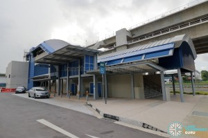 Gul Circle MRT Station - Exit B & Pick-up/Drop-off Point