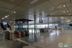 Gul Circle MRT Station - Faregates