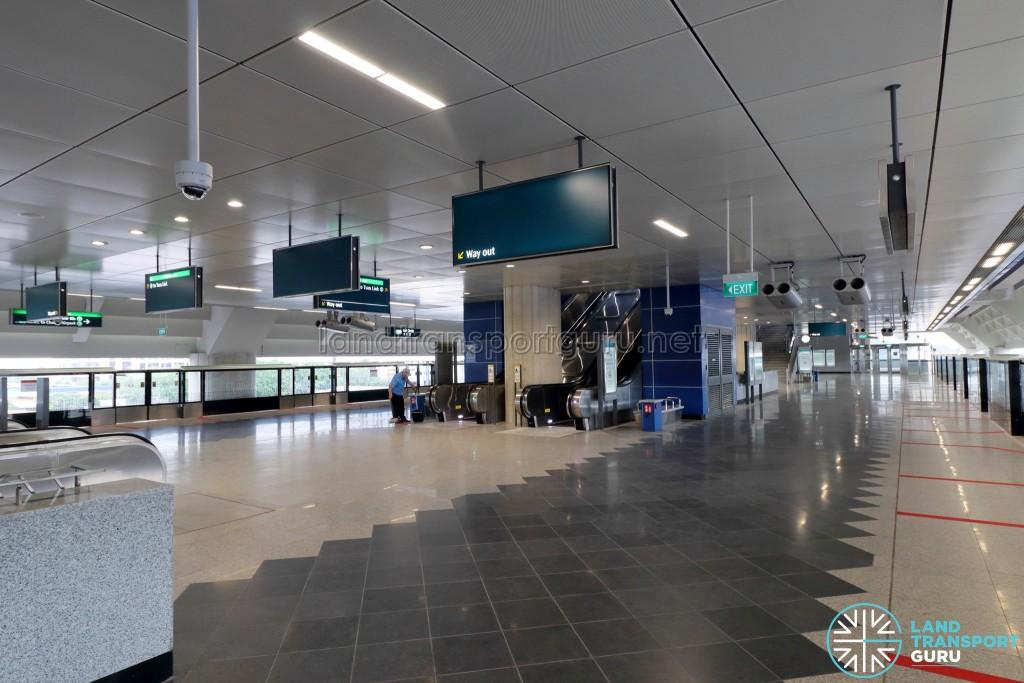 Gul Circle MRT Station - Lower Platform Level