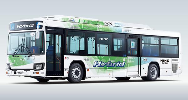 Hino Blue Ribbon Hybrid Bus