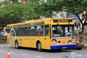 Mercedes-Benz CBC 1725 (JMB5989) - Service CW3