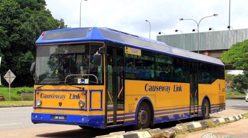 Causeway Link Scania K310IB (JMY8406) – Service CW6