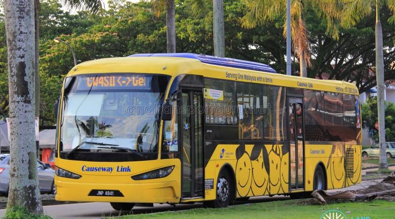 Causeway Link Sksbus SA12-300 (JNP4841) – Service CW4S