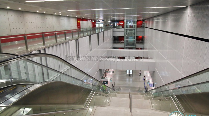 Kent Ridge MRT Station - View from Concourse level