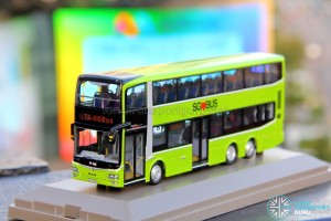 Knackstop MAN A95 bus model - Front nearside