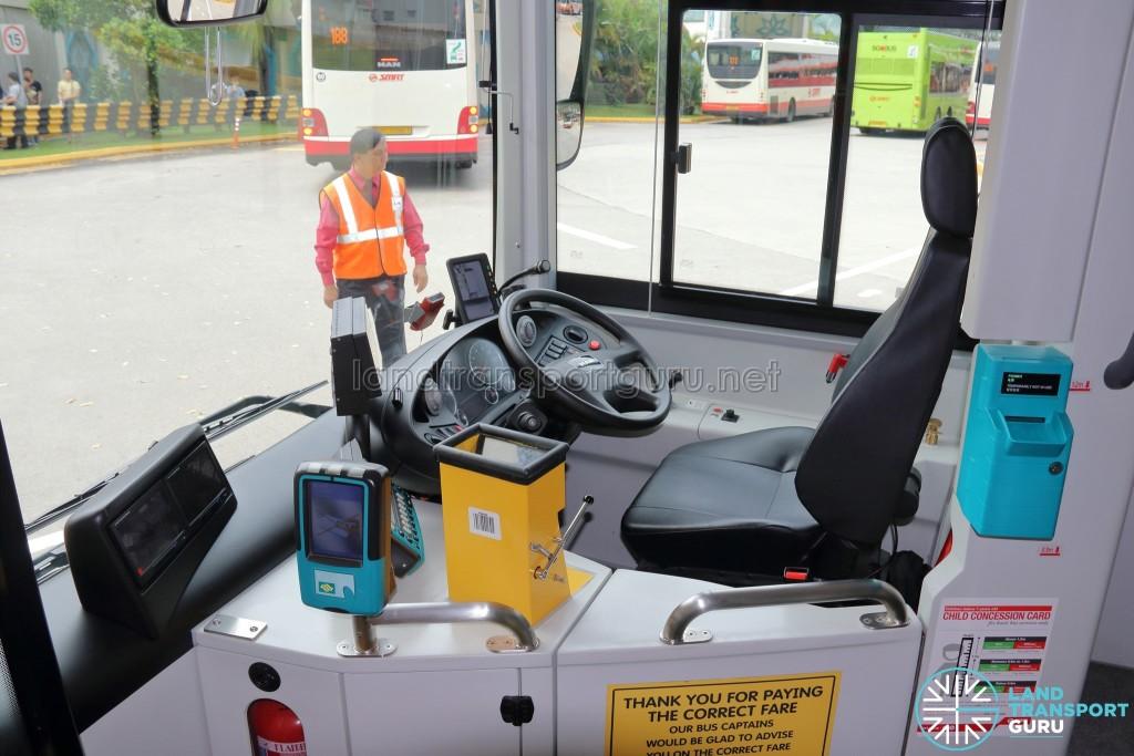 MAN Lion's City SD 3-Door (SG4002G) - Driver's Cab
