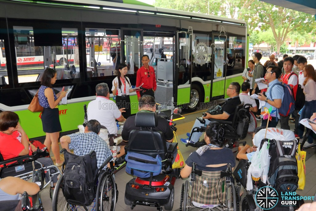 MAN Lion's City SD 3-Door (SG4002G) - Media Event at Choa Chu Kang Bus Interchange