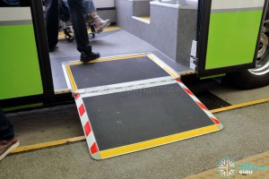 MAN Lion's City SD 3-Door (SG4002G) - Wheelchair Ramp