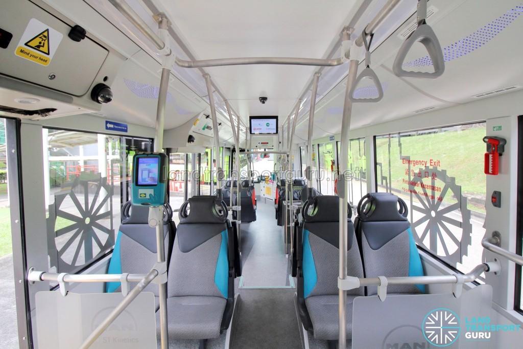 MAN Lion's City SD 3-Door (SG4002G) - Interior (Rear to Front)