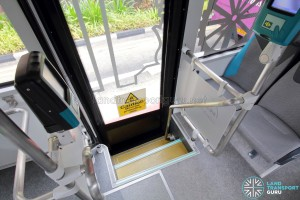 MAN Lion's City SD 3-Door (SG4002G) - Rear Door stairs