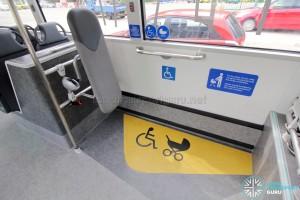 MAN Lion's City SD 3-Door (SG4002G) - Wheelchair Bay
