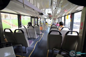 Mercedes-Benz O405G (TIB1105H) - Front cabin (Rear to Front)