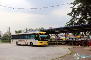 Perling Mall Bus Terminal - Passenger Shelter