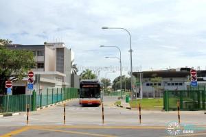Shenton Way Bus Terminal - Vehicular egress