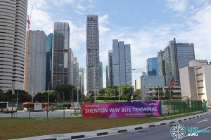 Shenton Way Bus Terminal - Bus Park