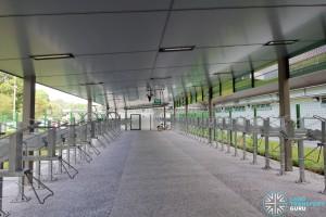 Shenton Way Bus Terminal - Bicycle Parking
