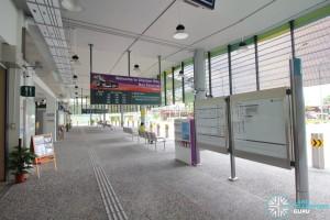 Shenton Way Bus Terminal - Terminal Concourse