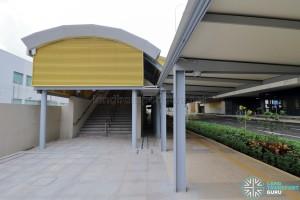 Tuas Crescent MRT Station - Exit B