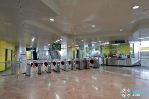 Tuas Crescent MRT Station - Faregates & PSC