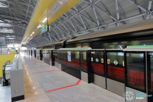 Tuas Crescent MRT Station - Platform B (to Tuas Link)
