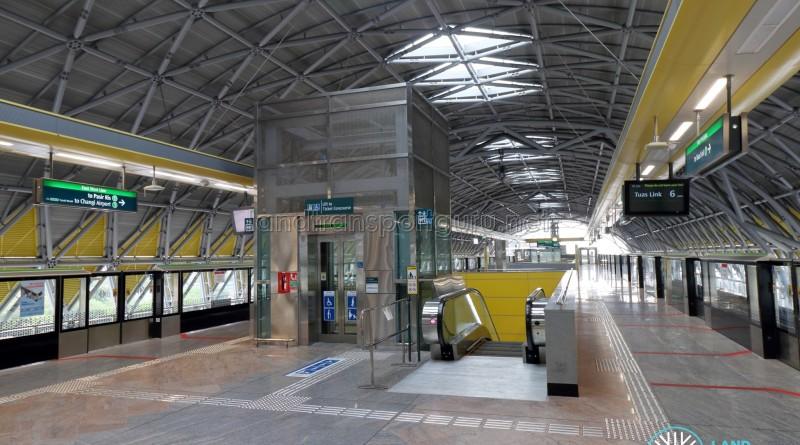 Tuas Crescent MRT Station - Platform level