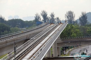 Tuas Link MRT Station - Overrun tracks