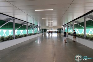 Tuas Link MRT Station - Linkbridge