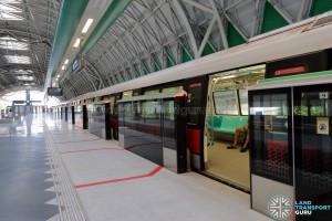 Tuas Link MRT Station - Platform B (to Pasir Ris)