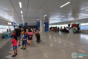 Tuas West Extension Open House - Activities at Gul Circle MRT Station