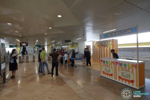 Tuas West Extension Open House - Activities at Tuas Crescent MRT Station