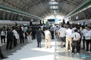 Tuas West Extension - Opening Ceremony at Tuas Link